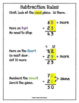 Free Worksheets » How To Subtract With Regrouping - Free Printable ...